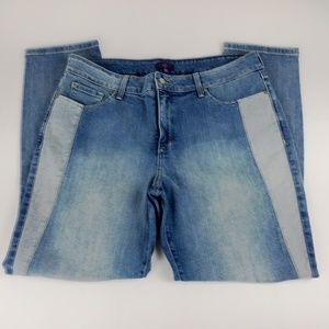 NYDJ Jeans Size 14 Legging Lift Tuck Skinny